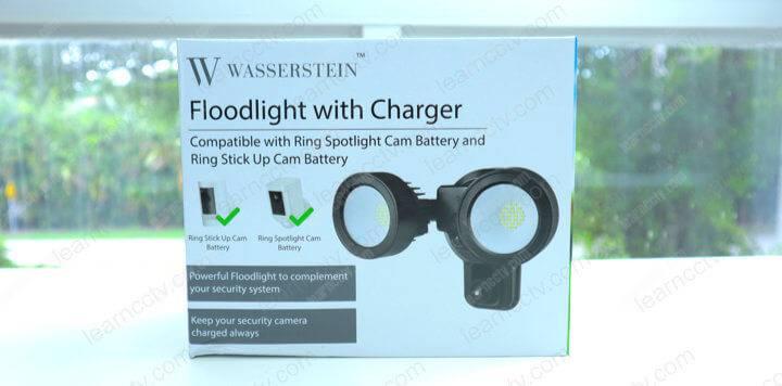 Wasserstein Floodlight with charger