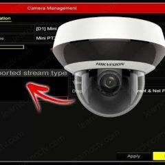 Hikvision Unsupported Stream Type