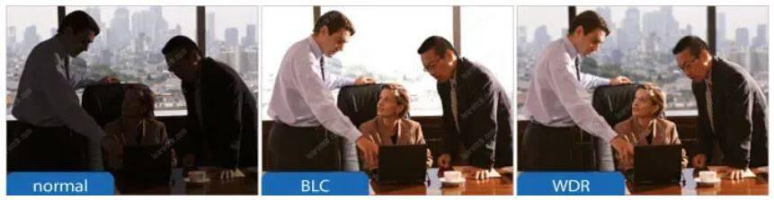 Normal vs BLC vs WDR