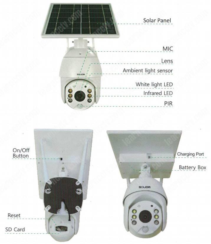 Soliom Camera S600 details