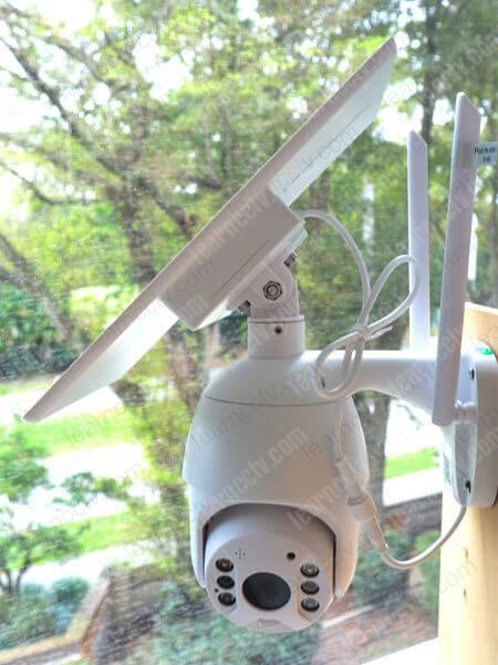 Solioum S600 camera installed