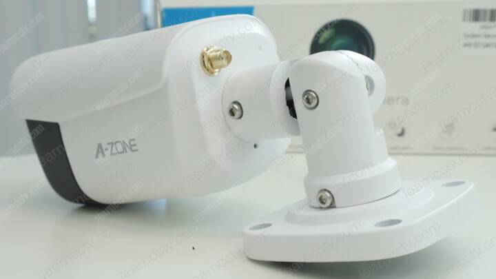 A-zone 3MP security camera back part