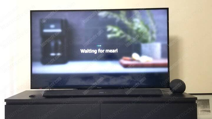 Alexa trying to display camera on the TV
