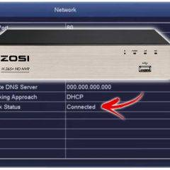 Zosi DVR connected to the Internet