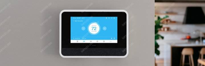 Vivint smart hub temperature