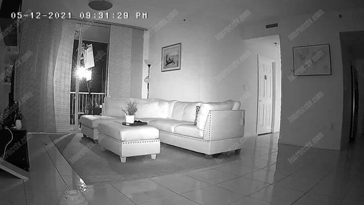 Camera night vision
