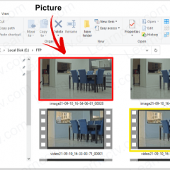 FTP Sever with videos from Axis IP camera