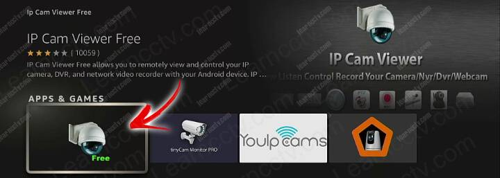 IPCam Viewer for Fire TV Stick