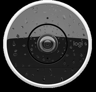 Câmera de CFTV a prova d'água