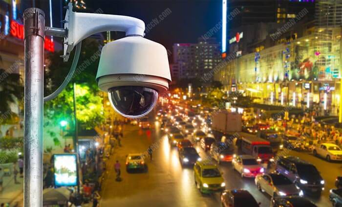CCTV camera  for traffic monitoring