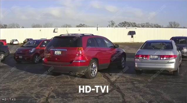 HD-TVI kamera