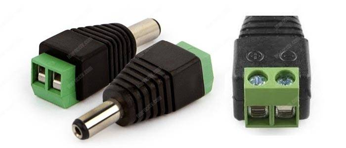 Power Jack Plug Adapter connectors
