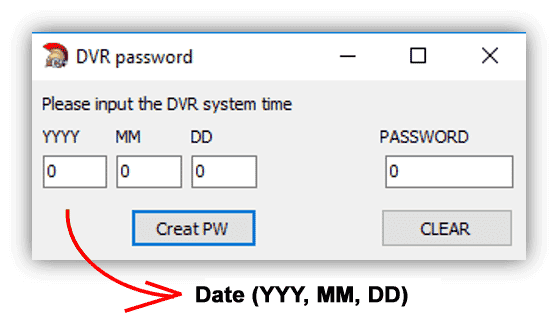 How to reset H 264 Network DVR (for lost password) by Learn CCTV