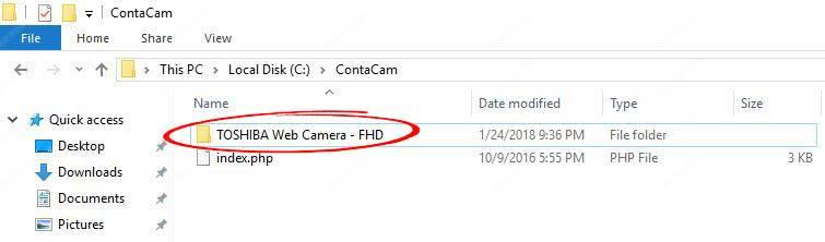 Turn your webcam into a security camera (or spy camera