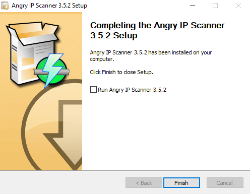 Angry IP Scanner Installation 03