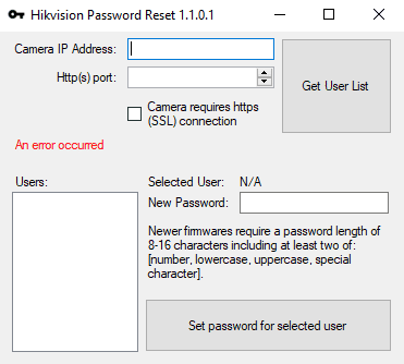 Hikvision Ip Camera Reset Tool | Camera Gifts