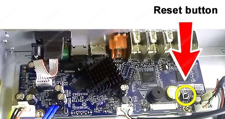 Dahua DVR sıfırlama düğmesi 02
