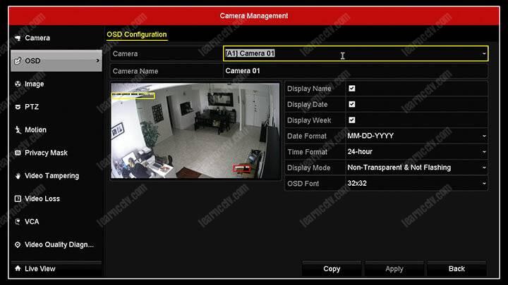 How to setup a Hikvision DVR (basic configuration) - Learn CCTV com