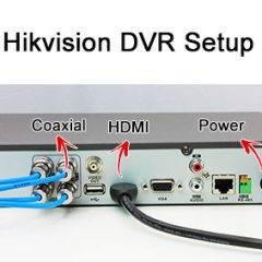 Hikvision DVR Setup