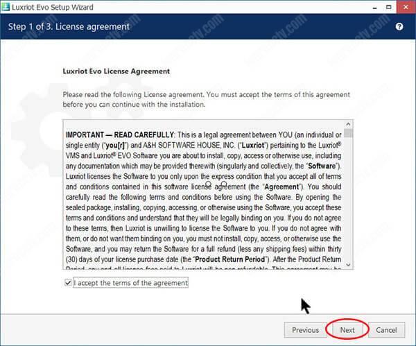 Free VMS software (Luxriot EVO) - Learn CCTV com