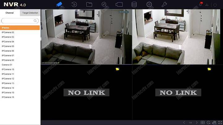 How to configure Hikvision IP camera with NVR (DS-7616NI-I2-16P-4k