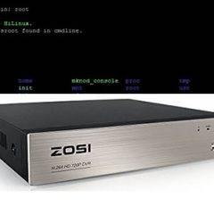 Reset Zosi DVR via Telnet