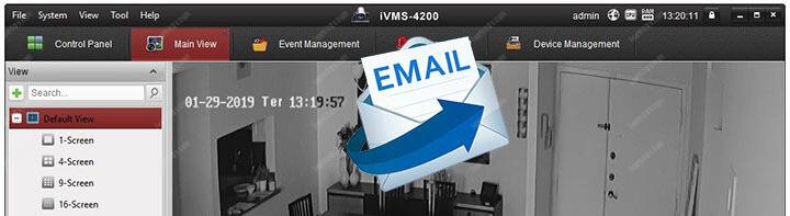 iVMS 4200 How To Setup email notification
