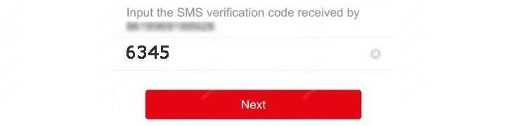 Nhập mã cấu hình ứng dụng