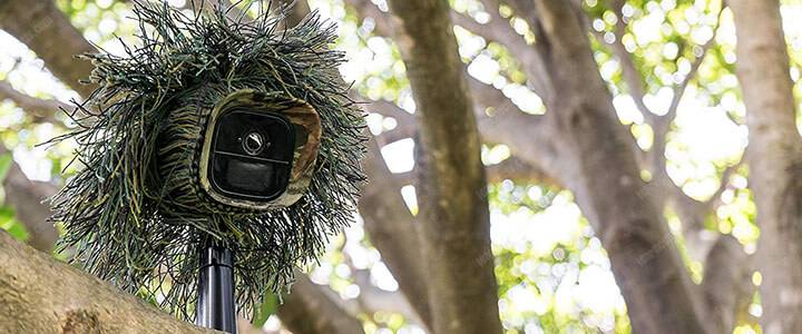 Arlo security camera camouflage