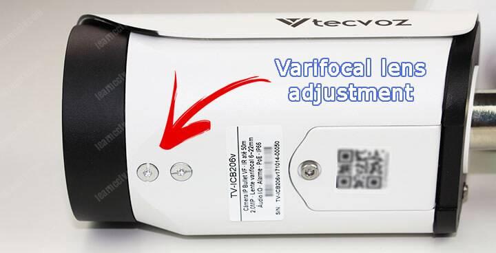 External lens adjustment to prevent condensation