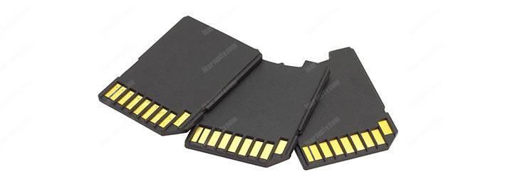 SD cards for security cameras
