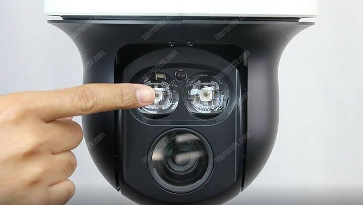 PTZ camera IR LED
