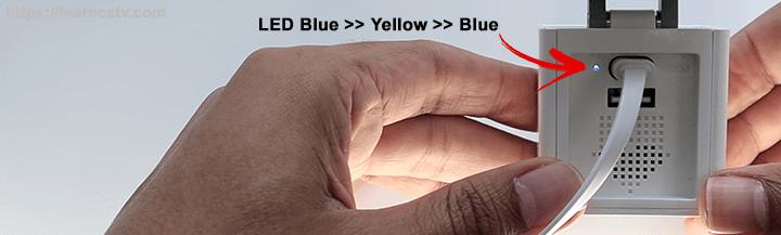 LED Blue Yellow Blue