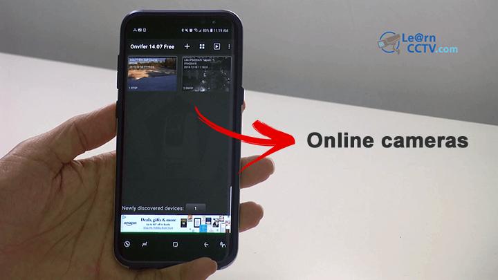 ONVIF test tool for smartphones online cameras