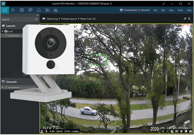 Record Wyze cam on PC