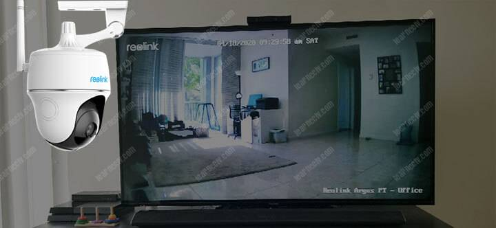 Connect the Reolink camera to Alexa