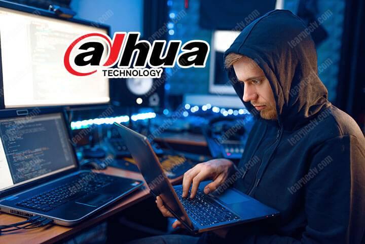 Dahua Master Password