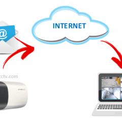 IP camera sends email