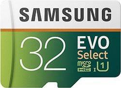 Samsung Evo Memory Card 32GB