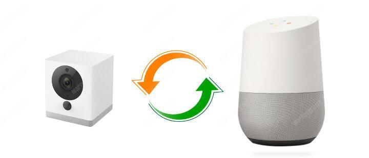 Wyze Cam works with Google Home