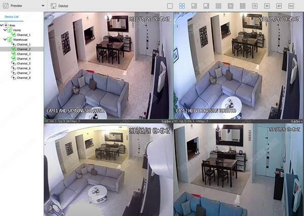 Zosi Smart App AVSS with four cameras