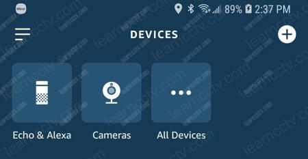 Alexa Devices camera