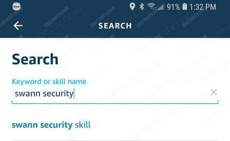 Alexa Skill search