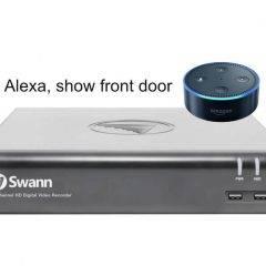 Alexa works with Swann