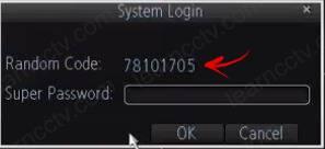 Amcrest DVR 650TVL System login