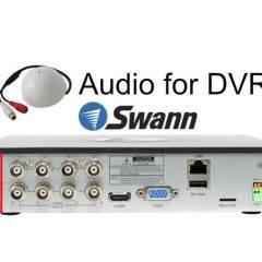 Audio for Swann DVR