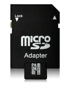 Micro SD card adapter