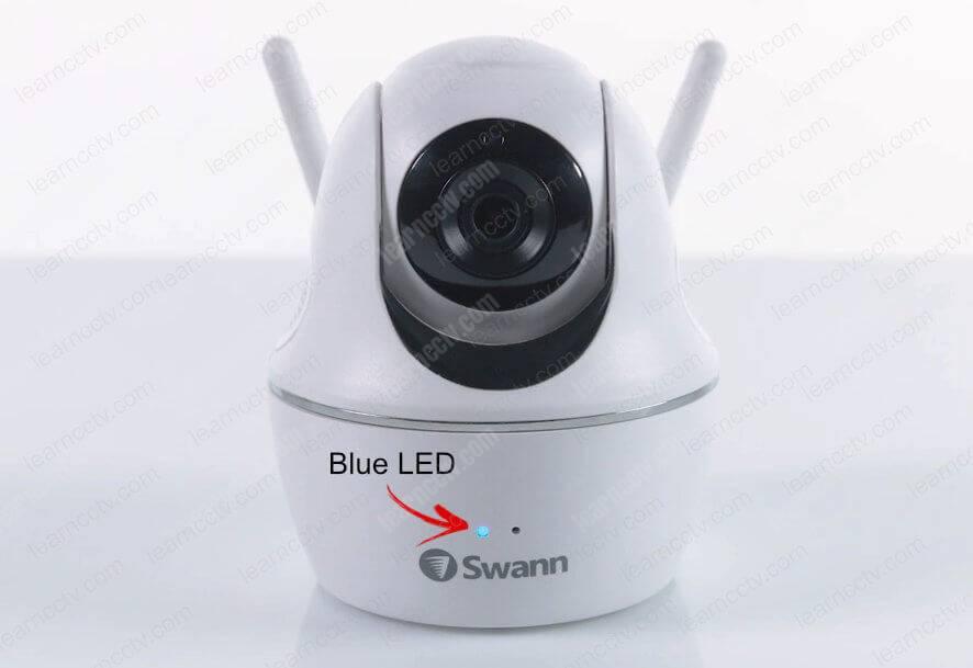 Swann Wi-Fi Camera Blue LED