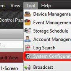 Hikvision DVR System Configuration