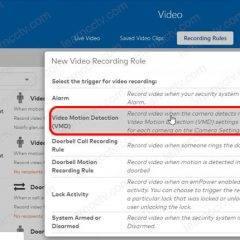 ADT Video Motion Detection - VMD